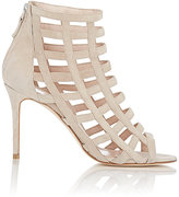 Barneys New York Women's Caged Sandals-NUDE