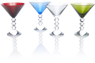 Baccarat Set-Of-Four Vega Martini Glasses