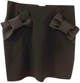 Claudie Pierlot Black Cotton Skirt for Women