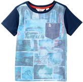 Original Penguin Blocked Beach Tee (Big Boys)