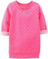 Carter's Foil Print Tunic (Baby) - Pink Dots-3 Months