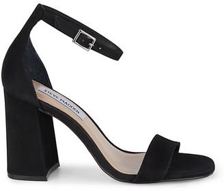 Steve Madden Dillion Suede Ankle-Strap Sandals
