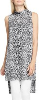 Vince Camuto High Low Leopard Print Tunic