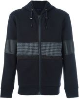 Lanvin mixed material hoodie