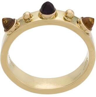 Dubini Punta di Diamante 18kt gold ring