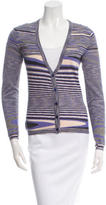 Missoni Patterned Cashmere Cardigan