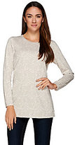 As Is Liz Claiborne New York Jacquard Knit Tunic