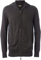 N.Peal zipped hoodie