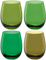 LSA International Coro Water/Wine Tumblers - Set of 4 - Leaf Assorted