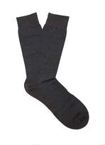 Pantherella Streatham polka-dot cotton-blend socks