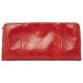 Celine Red Clutch bag