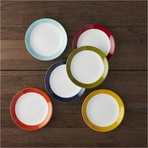 Crate & Barrel Party Plates, Set of 6