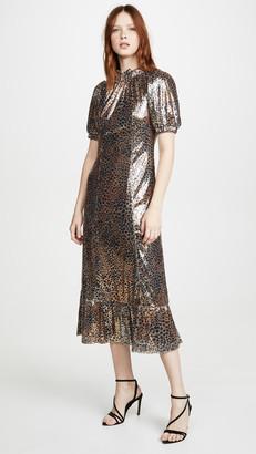 Sea Sequin Midi Dress