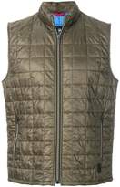 Fay padded zipped vest