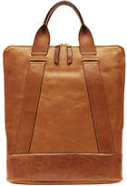 "Moses Nadel Leather Backpack ""Heritage Brief"""