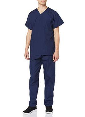 Workwear World Unisex Medical Hospital Doctors Scrub Set - Includes Tunic and Trousers (, )