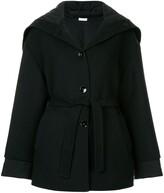 Jil Sander oversized belted jacket