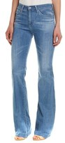 AG Jeans The Janis 25 Years Classic High-rise Flare Leg.