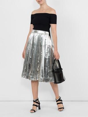 Calvin Klein Metallic Skirt