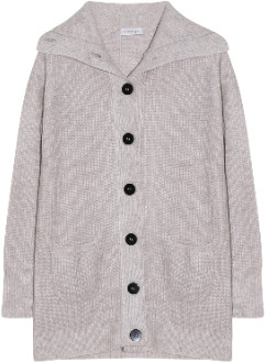 engage - Light Gray Cashmere Cardigan - xs | light gray | cashmere