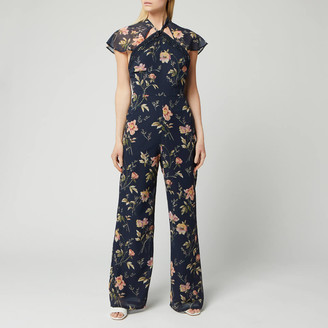Hope & Ivy Women's Tara Jumpsuit with Back Cut Out