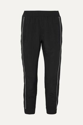 RtA Zip-embellished Shell Track Pants - Black