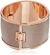 Kenneth Cole New York Salt Mines Rose Leather Bracelet