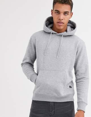 Jack and Jones Essentials oversized hoodie in grey