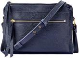 GiGi New York Whitney Pebbled Leather Crossbody Bag