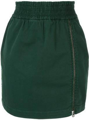 No.21 Zip Detail Skirt