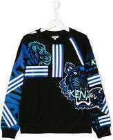 Kenzo teen appliqué sweatshirt