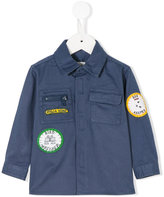 Stella McCartney badge embroidered shirt