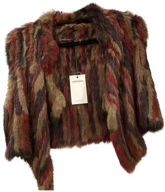 Antik Batik Burgundy Rabbit Jacket for Women