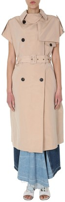 Givenchy Sleeveless Trench Coat