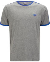 Gola Men's Melrose T-Shirt - Grey Marl/Cobalt Blue
