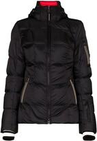 Bogner hooded padded down jacket