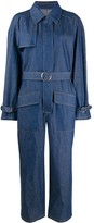 Maison Margiela denim belted jumpsuit