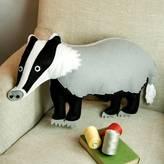 CUDDLEFELT Badger Cushion
