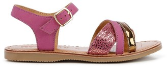 Geox Kids Eolie Leather Sandals