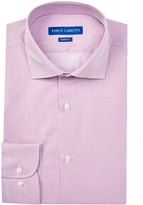 Vince Camuto Oxford Trim Fit Striped Dress Shirt