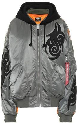 Vetements x Alpha Industries hooded jacket