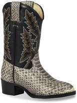 Durango Print Western Toddler & Youth Cowboy Boot - Girl's