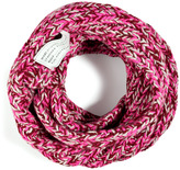 Marc by Marc Jacobs My Boyfriend Merino Wool Snood in Pop Pink Multi