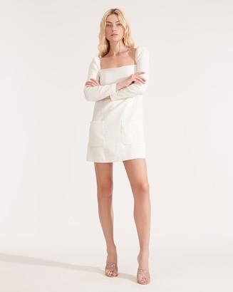 Veronica Beard Alona Soft-Tweed Dress