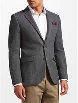 John Lewis Herringbone Jacket, Grey