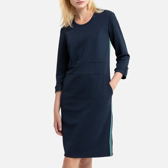 Anne Weyburn Textured Mid-Length Dress