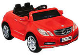 Kid Motorz Mercedes Benz E550 1 Seater - Red 6V Ride-On Ve