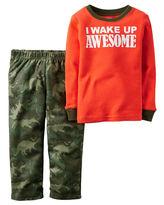 Carter's 2-pc. Awesome Camo Pajama Set - Baby Boys newborn-24m
