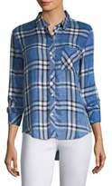 Rails Blue Hunter Plaid Shirt