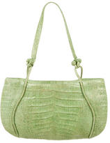 Nancy Gonzalez Crocodile Knot Shoulder Bag